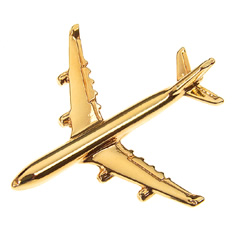 airbus a340 pin badge