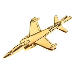 harrier t8 pin badge