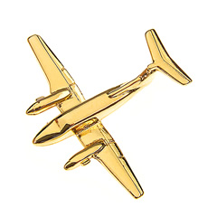 beech 200 pin badge