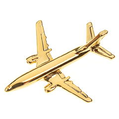 boeing 737-300 pin badge