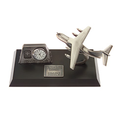 airbus a400m desk top clock