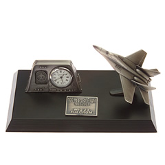 mig 29 desk top clock