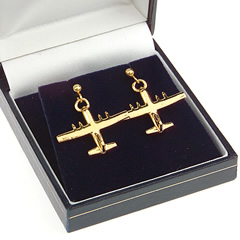 hercules earrings gold