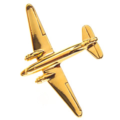 dc-3 large badge gold