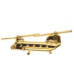 ch-47 chinook large badge gold