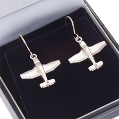 robin 400 earrings silver